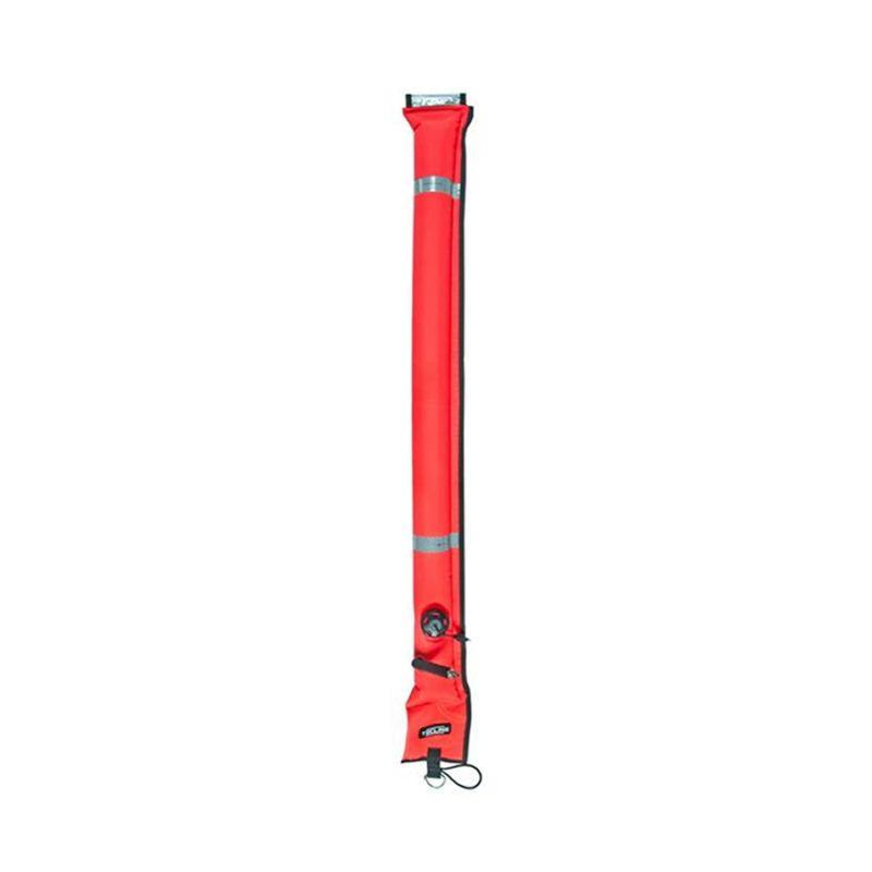 Водолазен буй затворен тип с клапан за орална инфлация 22 / 180 см – Tecline