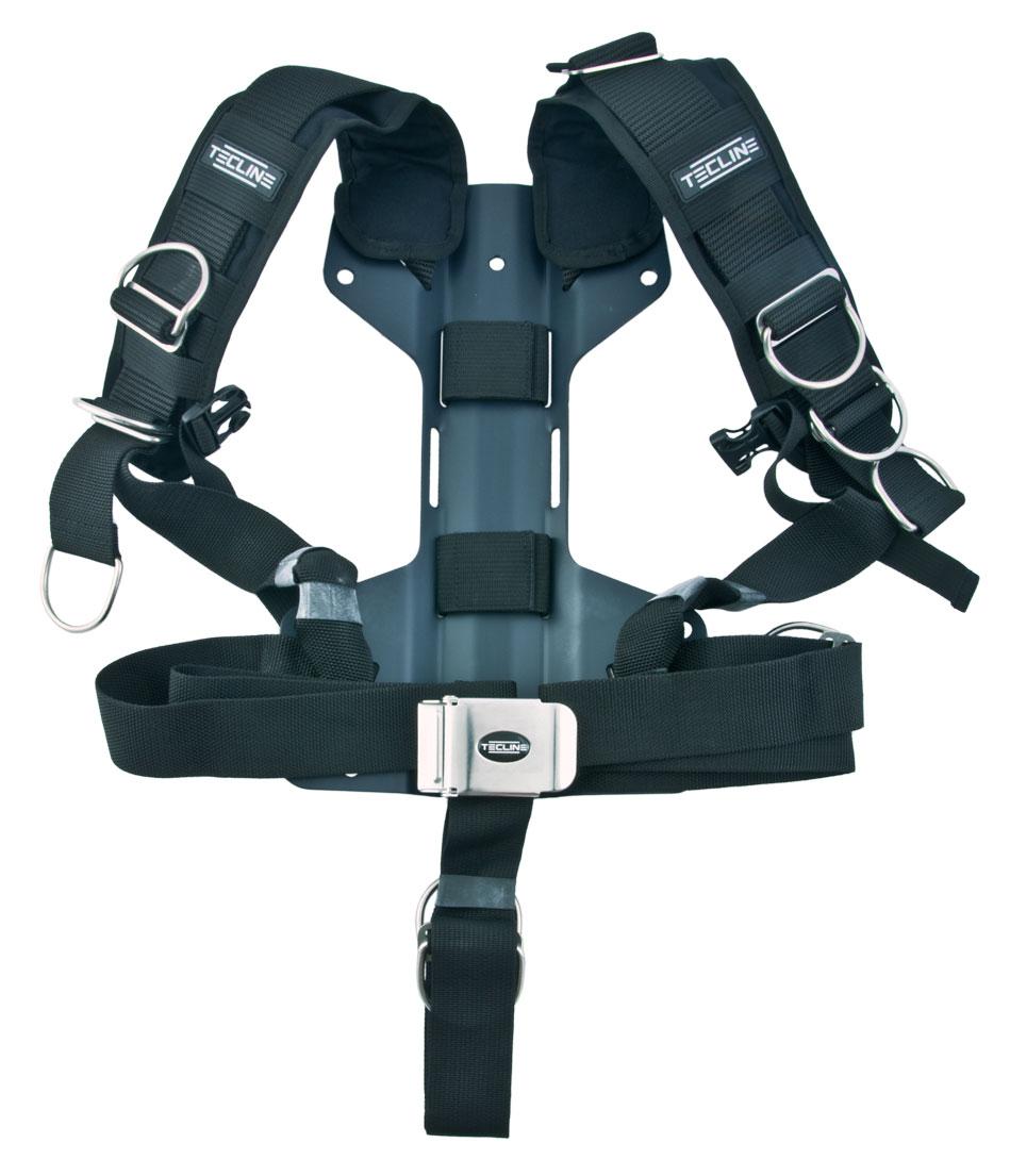 Регулируем водолазен харнес с алуминиев бекплейт 3 мм Comfort Harness тип H - Tecline