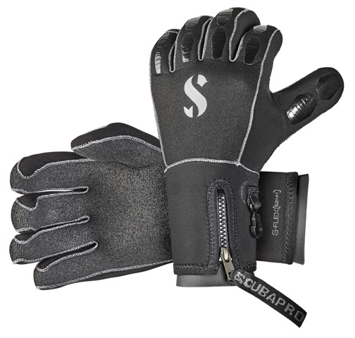 Полусухи водолазни неопренови ръкавици G-FLEX 5.0 / 5 мм - Scubapro