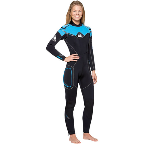 Дамски неопренов водолазен костюм W50 Lady 5 мм - Waterproof