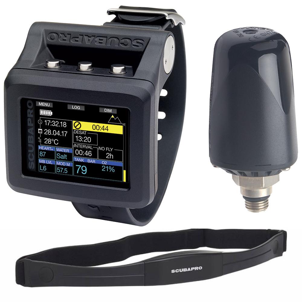Водолазен компютър GALILEO 2 с LED трансмитер и сърдечн мониторинг - Scubapro