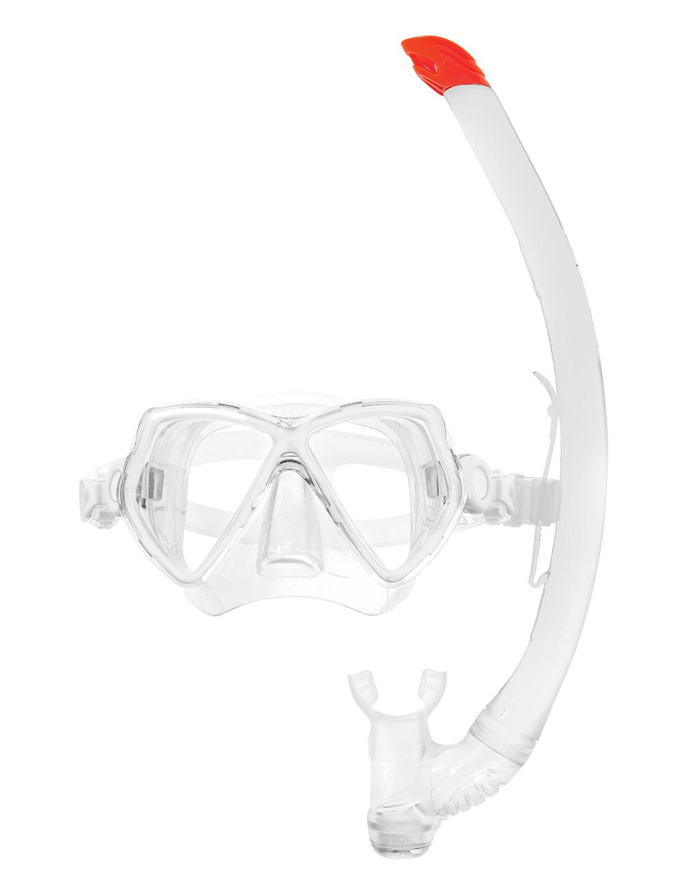 Комплект водолазна маска и шнорхел PANTAI COMBO SET White - Scubapro