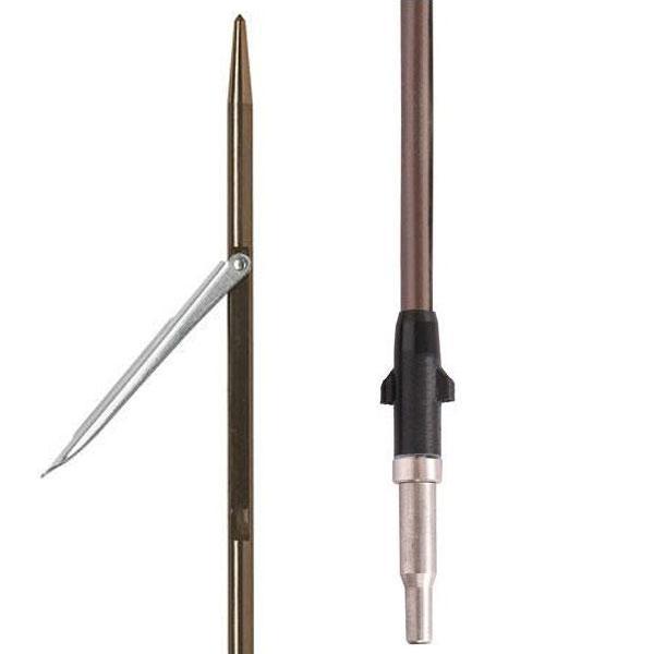 Тайтянска стрела с еденична контра Ø8 мм / 115 см за пневматичен харпун 95/100 см – Devoto