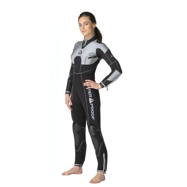 Дамски неопренов водолазен костюм W4 Lady 5 мм - Waterproof