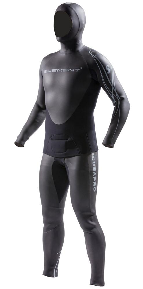 Мъжки неопренов костюм за фриидайвинг ELEMENT 2 5/4 мм - Scubapro