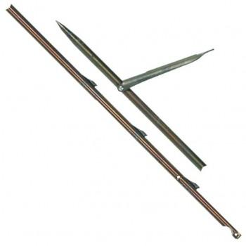 Стрела с единична контра ERGOT, Ø8,5 мм / 160 см за ластичен харпун 120 см – Devoto