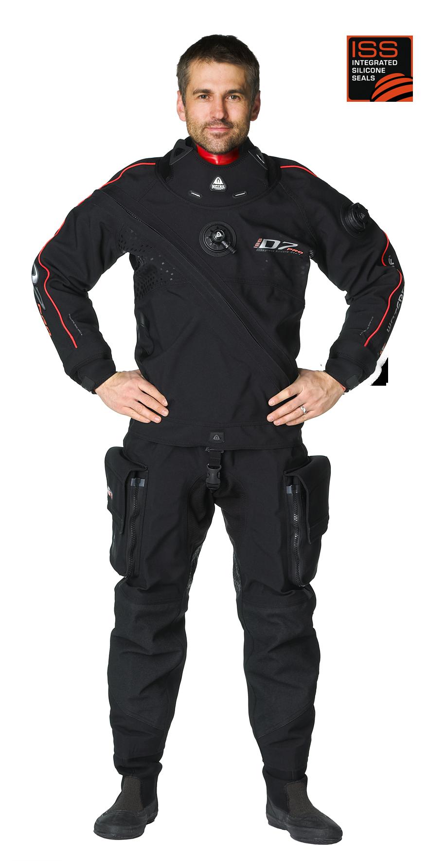 Сух водолазен костюм D7 PRO ISS - Waterproof