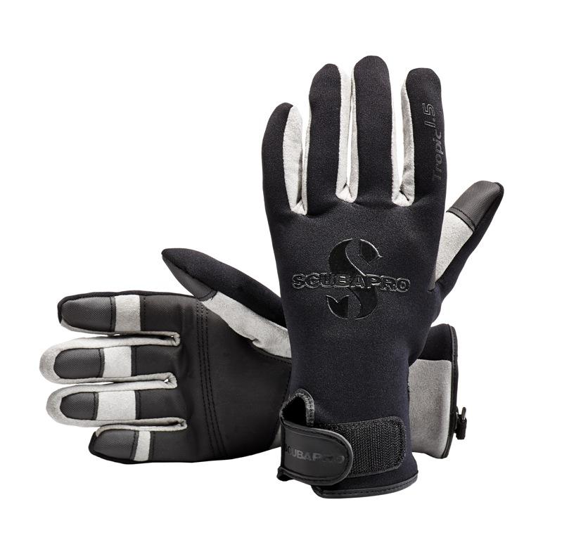 Водолазни ръкавици TROPIC BLACK 1,5 мм - Scubapro