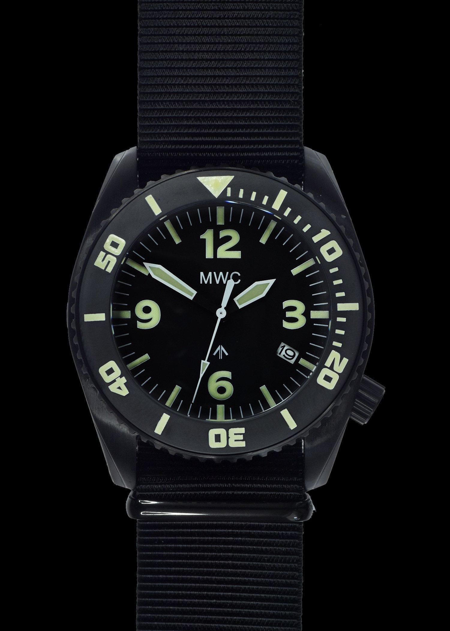 Водолазен часовник DEPTHMASTER Quartz 1000m / 100atm Military Divers Helium – MWC