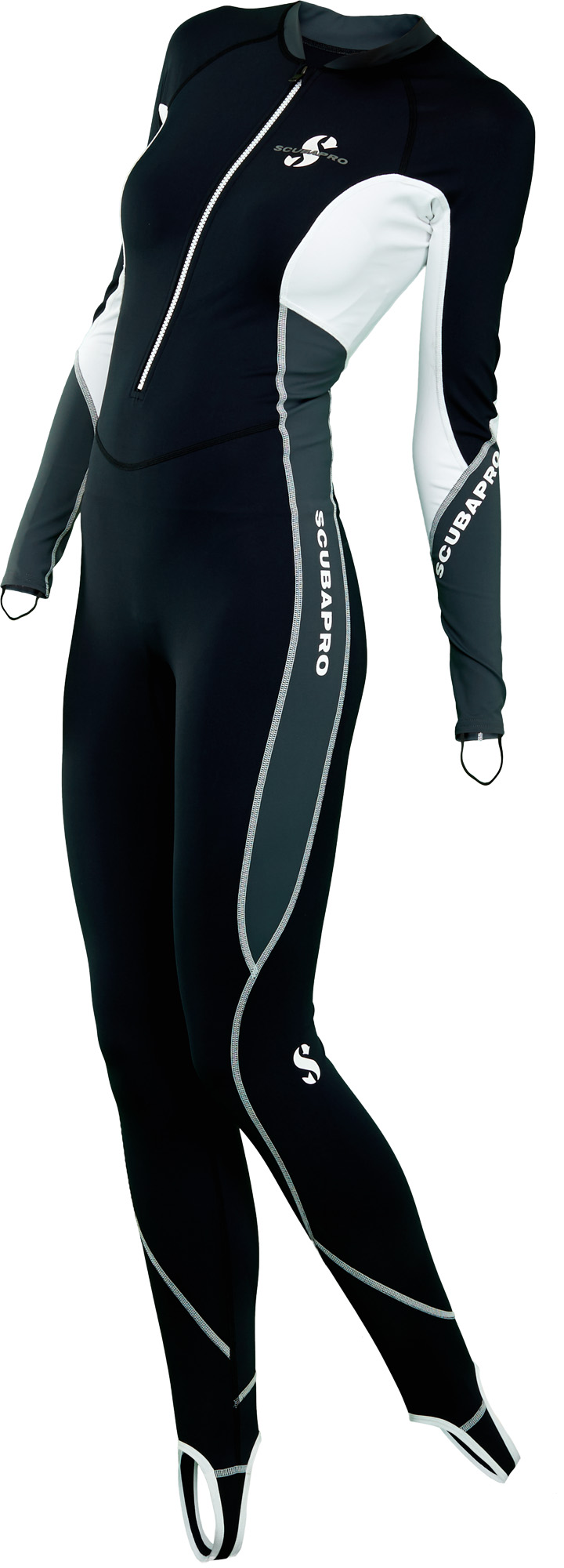 Дамски водолазен костюм от ликра с UV защита STEAMER GRAPHITE Lady - Scubapro
