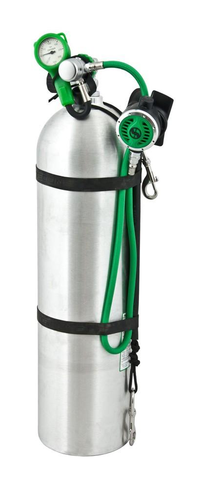 Водолазен регулатор за декомпресия R1 PRO O2 комплект с манометър – Tecline