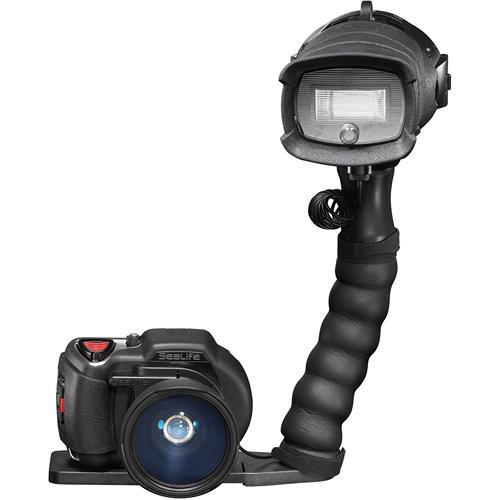 Подводен фотоапарат комплект със светкавица и широкоъгълна леща DC1000 ELITE PACK – Sea Life