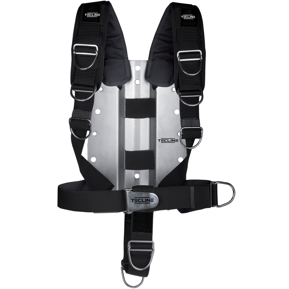Регулируем водолазен харнес с алуминиев бекплейт 3 мм Comfort Harness - Tecline