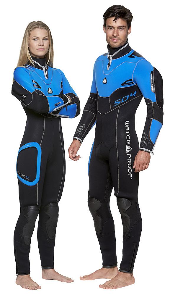Полусух водолазен костюм SD4 7mm Lady - Waterproof