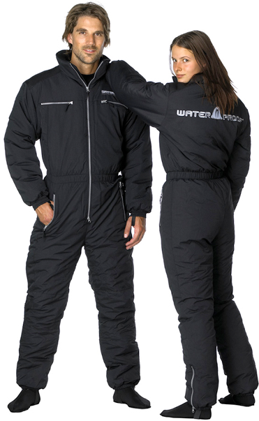 Термобельо за сух водолазен костюм WARMTEC 200 - Waterproof