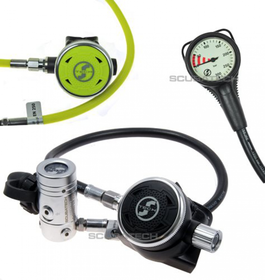 Водолазни регулатори пълен комплект R2 ICE - Tecline