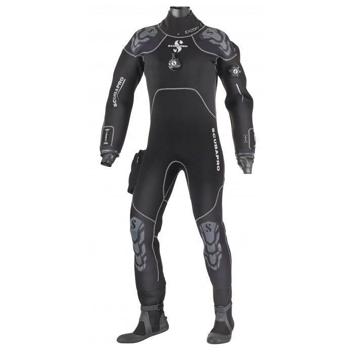 Сух водолазен костюм от компресиран неопрен EXODRY 4.0 - Scubapro