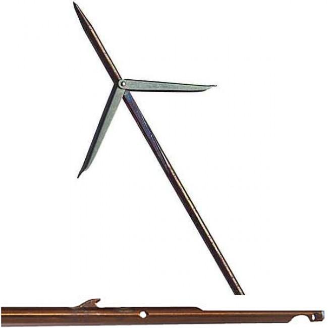 Стрела с двойна контра ERGOT, Ø7 мм / 150 см за ластичен харпун 110 см – Devoto
