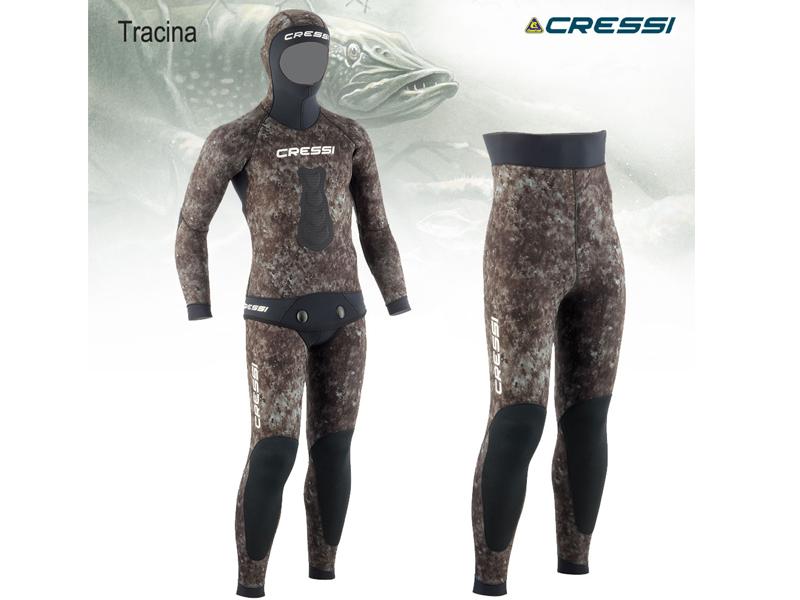 Неопренов костюм за подводен риболов Tracina 3,5 мм – Cressi