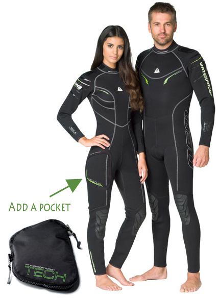 Mъжки водолазен костюм W30 Man 2,5 мм - Waterproof