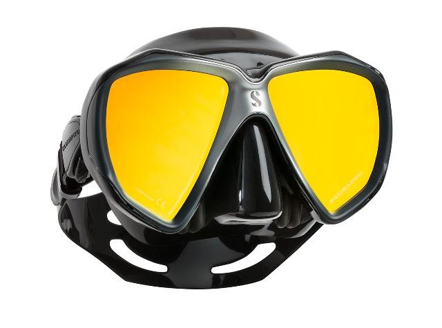 Водолазна маска с огледални стъкла SPECTRA BLACK Mirrored Lens - Scubapro