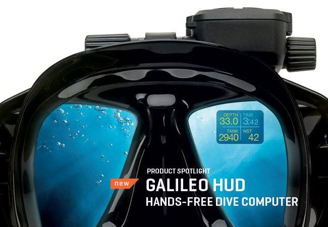 Водолазен компютър GALILEO HUD - Scubapro