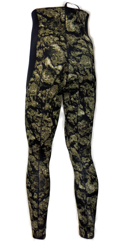 Неопренов панталон за подводен риболов CAMO STONE 5 мм / размер XXL / 6 - H.Dessault