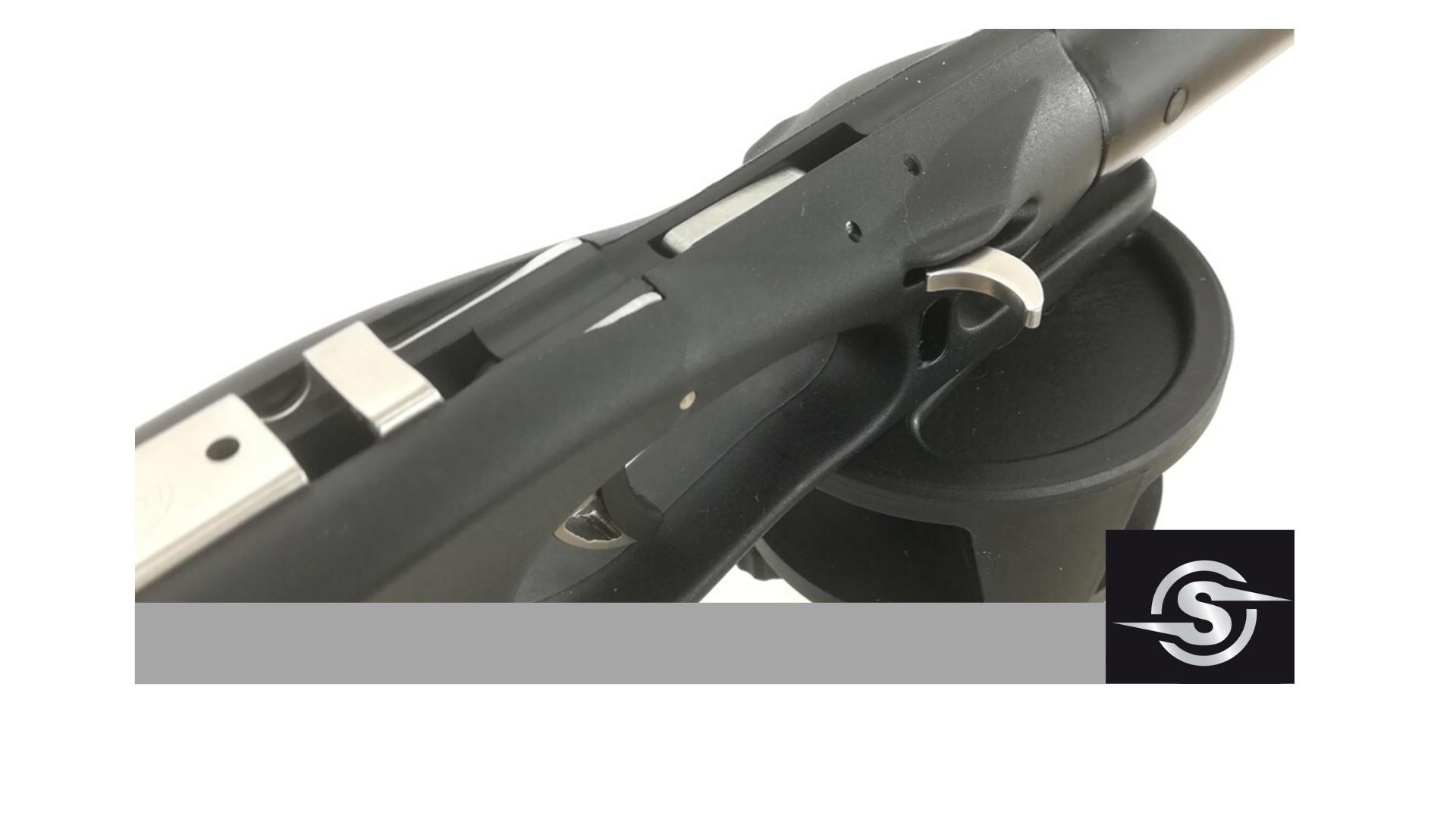 Харпун за подводен риболов NEMESIS PRO BLACK 92 / 2x14,5 - Sigalsub