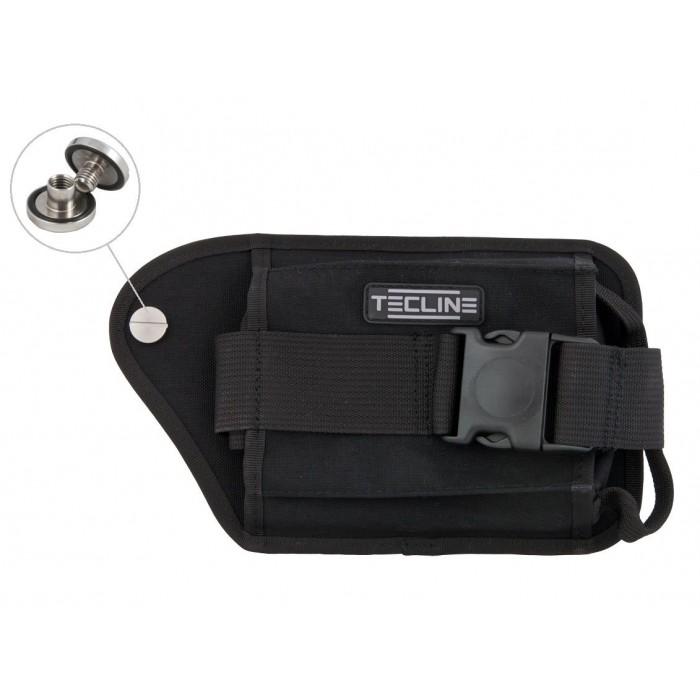 Десен джоб за тежести за водолазна жилетка тип крило със система за бързо освобождаване QR WEIGHT POCKET Right - Tecline