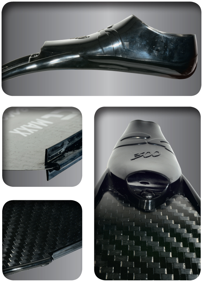 Карбонови плавници за подводен риболов IMPACT MAXX - H.Dessault / C4