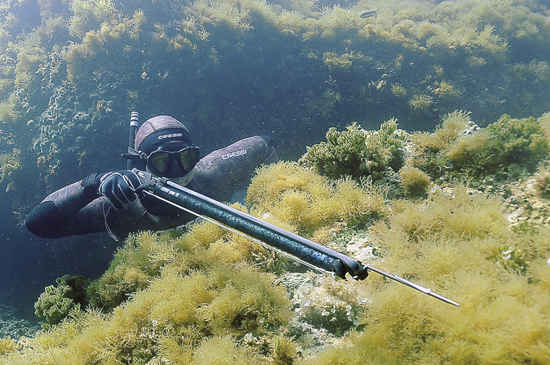 Харпун за подводен риболов YUMA 85 см - Cressi