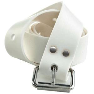 Силиконов колан за подводен риболов и фриидайвинг Marseille Buckle Belt White – C4