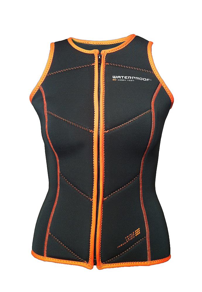 Дамско термобельо за сух водолазен костюм 3D MESH VEST - Waterproof