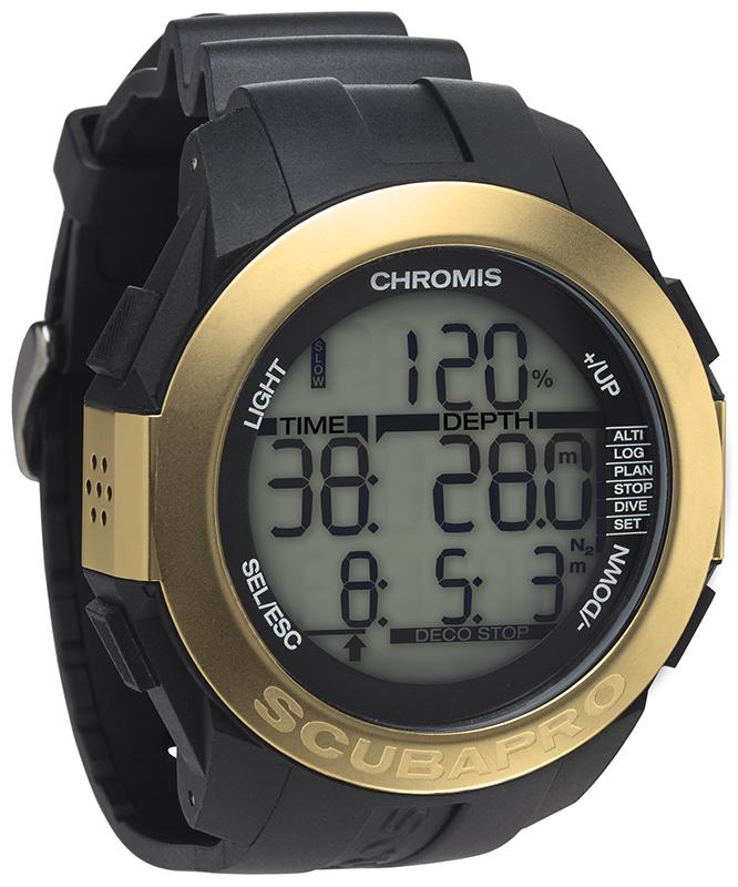 Водолазен компютър с режим за фридайвинг CHROMIS Gold - Scubapro