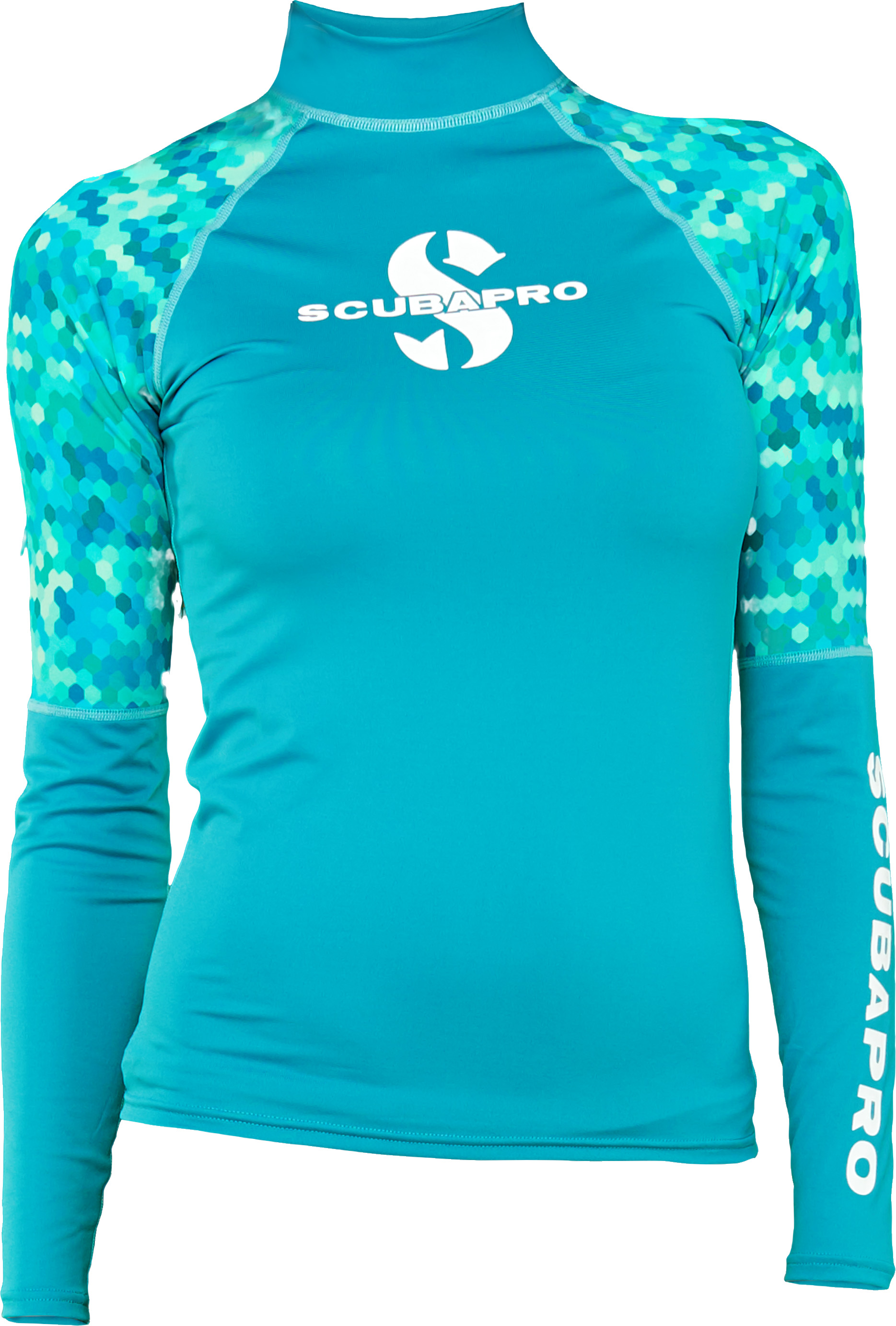 Дамска ликра с UV защита RASH GUARD CARIBBEAN LS Lady – Scubapro