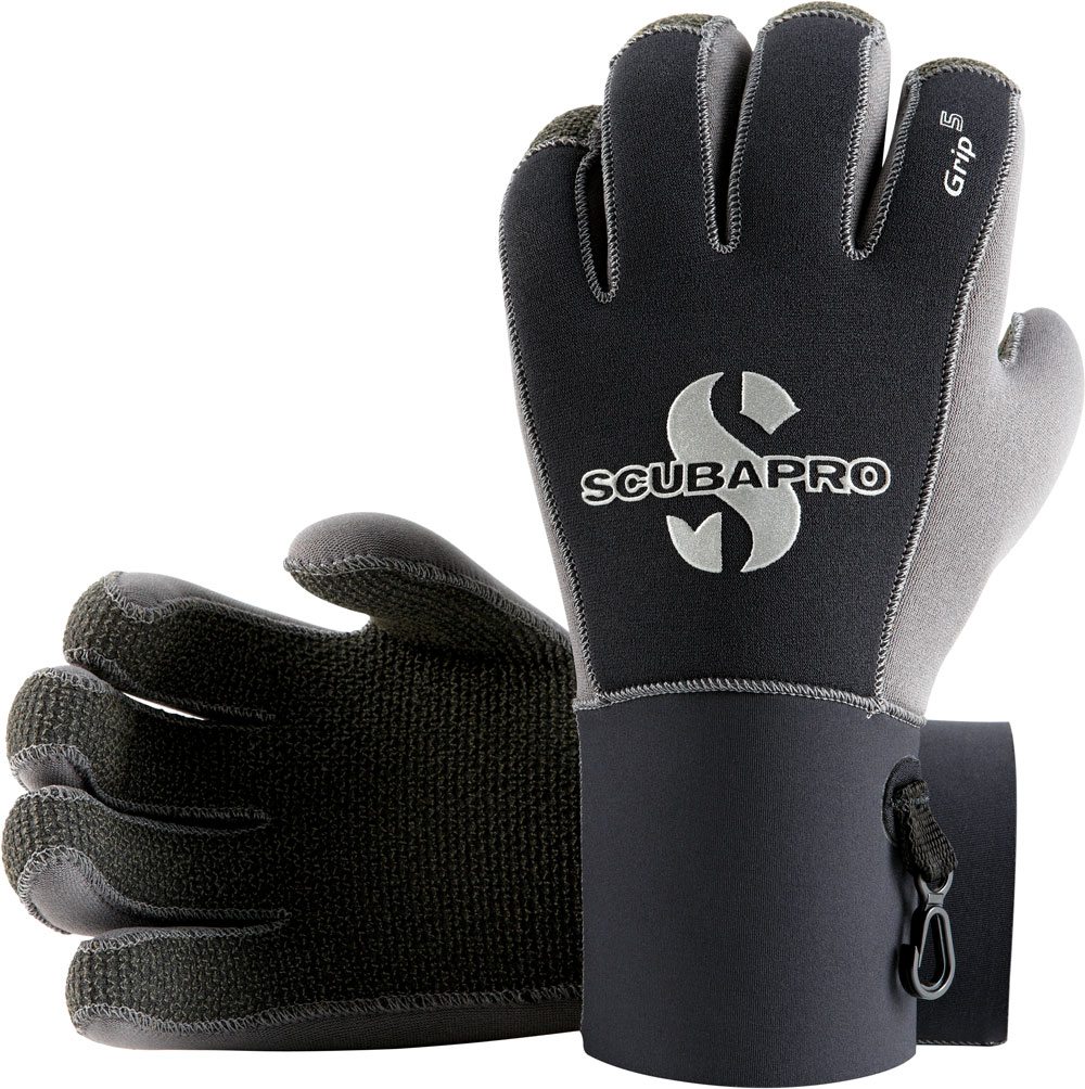 Полусухи водолазни неопренови ръкавици GRIP 5 мм - Scubapro