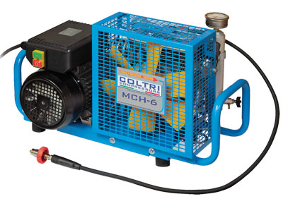 Електрически портативен водолазен компресор MCH 6 EM 232 бара / 300 бара – Coltri