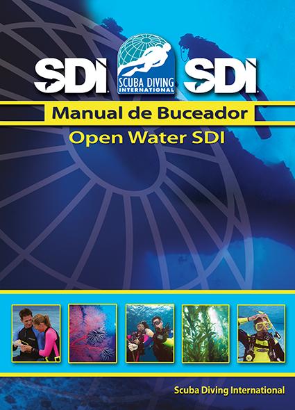SDI Open Water Scuba Diver / Espanol - учебник на испански език