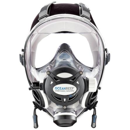 Целолицева водолазна маска NEPTUNE SPACE G.Divers White – Ocean Reef