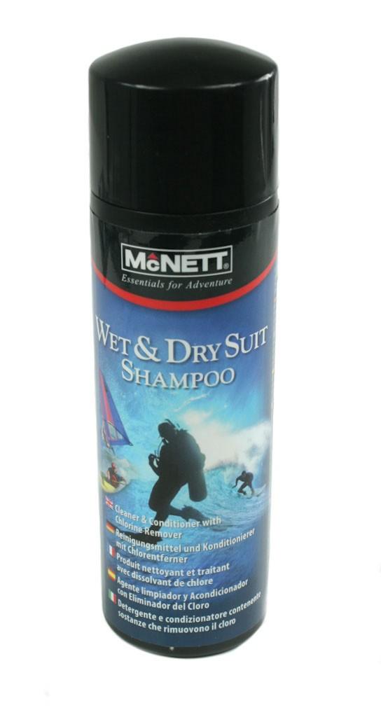 Специален шампоан за мокри неопренови костюми и сухи костюми WET/DRY SUIT SHAMPOO - McNETT