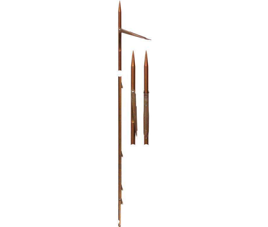 Стрела с единична контра ERGOT, Ø8 мм / 160 см за ластичен харпун 120 см – Devoto