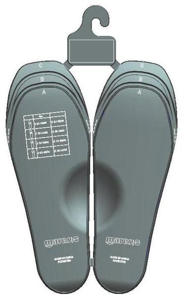 Стелки за корекция на размера на плавници RAZOR – Mares