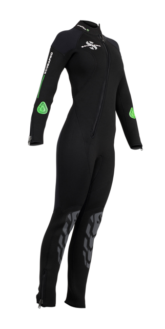 Дамски неопренов водолазен костюм ONEFLEX Fron Zip Lady 5 мм - Scubapro