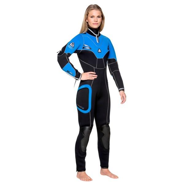 Полусух водолазен костюм SD4 Lady - Waterproof