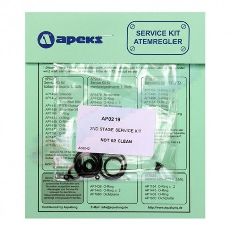Ремонтен комплект за водолазен регулатор втора степен Apeks XTX200