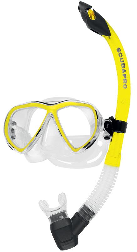 Комплект водолазна маска и шнорхел CURRENTS COMBO PRO - Scubapro