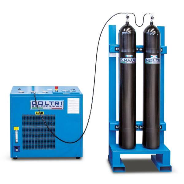 Каскадна система за съхранение и преливане на въздух и други газове 2 X 50 / 350 бара – Coltri