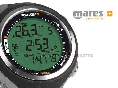 Компютър за фриидайвинг и подводен риболов SMART APNEA - Mares