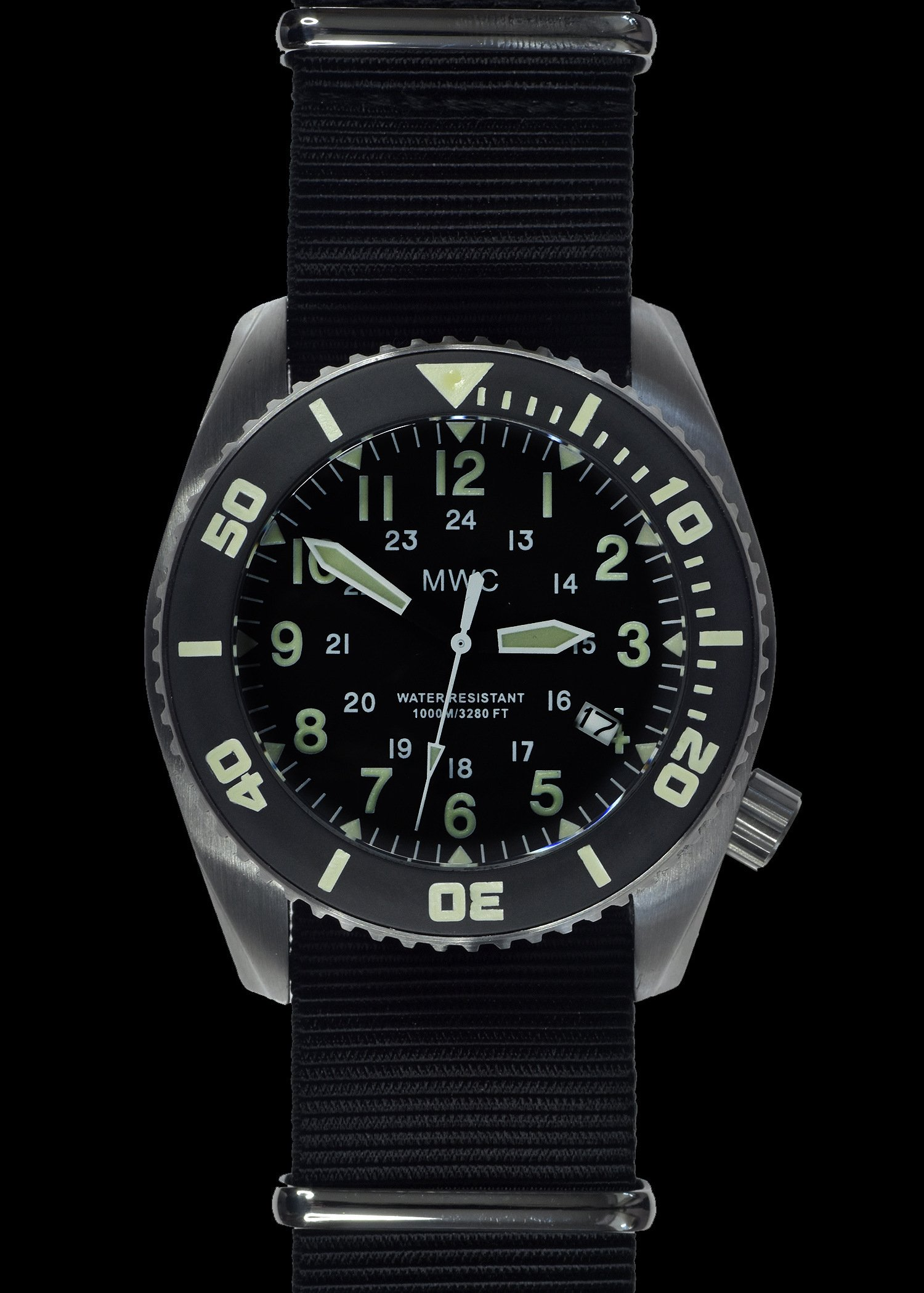 Водолазен часовник DEPTHMASTER Quartz 1000m / 100atm Military Divers Helium - MWC