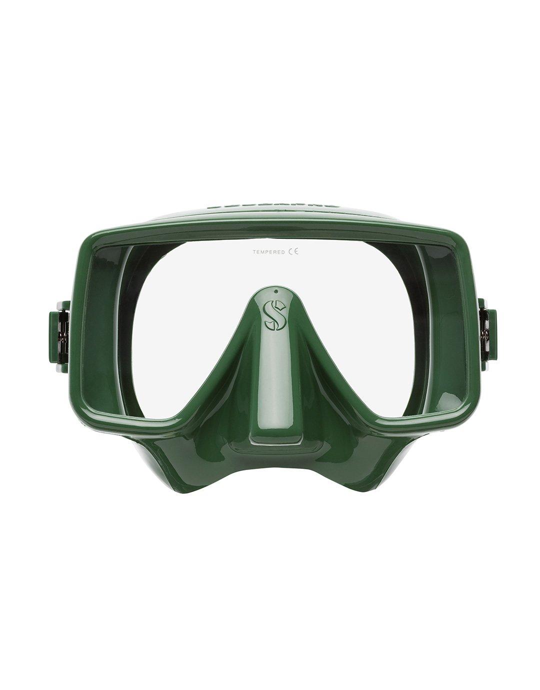 Водолазна маска без рамка FRAMELESS Army Geen – Scubapro